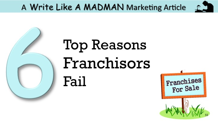 Why Franchisors Fail